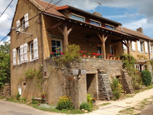 la maison d'Ameugny