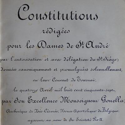 constitutions de 1857